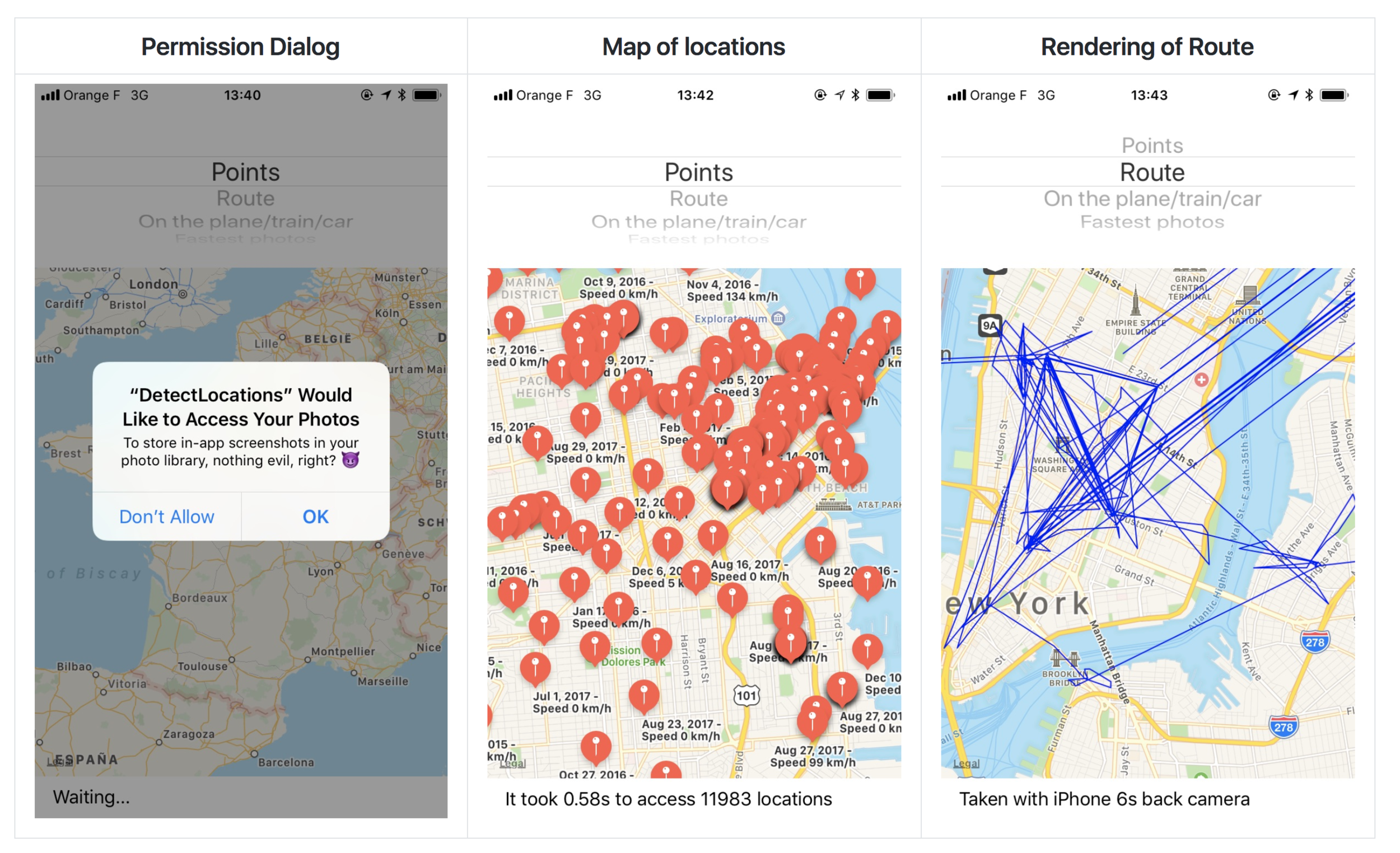 iOS Privacy: detect location - An easy way to access the user's iOS