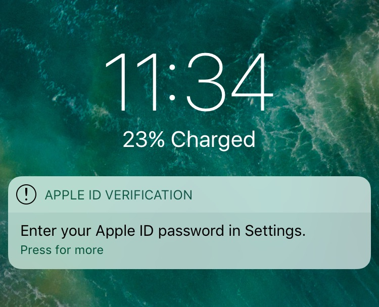 iOS Privacy: steal password - Easily get the user's Apple ID